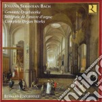 Integrale della musica per organo cd musicale di Bach