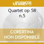 Quartet op 58 n.5 cd musicale di Boccherini