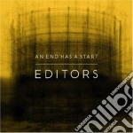 AN END HAS A START cd musicale di EDITORS