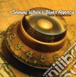 TWICE AS ADDICTIVE cd musicale di SNOWY WHITE'S BLUES