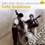 Pedro Soler & Renaud Garcia Fons - Suite Andalouse cd musicale di Pedro soler & renaud