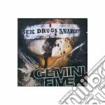 SEX DRUGS ANARCHY                         cd musicale di Five Gemini