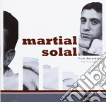 Martial Solal - First Recordings cd musicale di Martial Solal