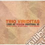 Trio Viriditas - Live At The Vision Festival Vi cd musicale di Viriditas Trio