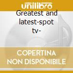 Greatest and latest-spot tv- cd musicale di Animals The
