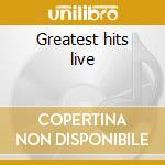 Greatest hits live cd musicale di T-pau