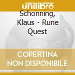 RUNE QUEST cd musicale di Klaus Schonning