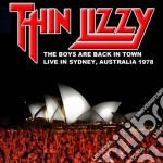 The boys are back in town cd musicale di Thin Lizzy