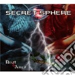 Secret Sphere - Heart & Anger cd musicale di Sphere Secret