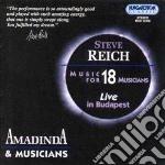 Reich Steve - Music For 18 Musicians cd musicale di Steve Reich
