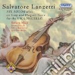 Sonate cd musicale di Salvatore Lanzetti