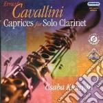 Capricci per clarinetto solo cd musicale di Ernesto Cavallini