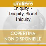 Bloody iniquity cd musicale