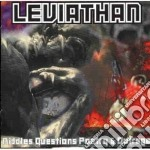 Leviathan - Riddles Questions Poetry &... cd musicale di Leviathan