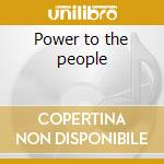 Power to the people cd musicale di West Adam