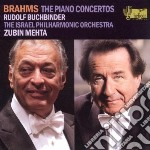 Concerto per pianoforte n.1 op.15 cd musicale di Johannes Brahms