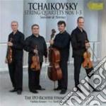 Quartetto per archi nn.1, n.3 cd musicale di Ciaikovski pyotr il'