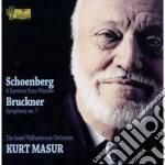 Schoenberg Arnold - Un Sopravvisuto Di Varsavia cd musicale di Arnold Schoenberg