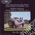 Mendelssohn/smetana Trii Per Pf. cd musicale
