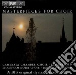 Masterpieces For Choir cd musicale