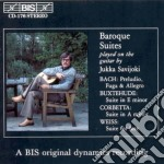 Baroque suites played for cd musicale di Jukka Savijoki