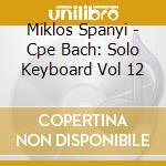 Int.musica per tastiera 12 cd musicale di C.p.e. Bach