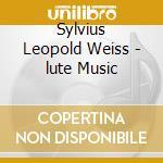 Jakob Lindberg - Weiss/lute Music cd musicale di Weiss