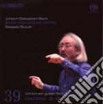 Bach Js- Integrale Delle Cantate V. 39 cd musicale di Johann Sebastian Bach