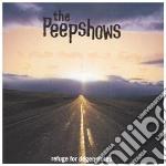 REFUGE FOR DEGENERATES cd musicale di Peepshows
