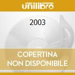 2003 cd musicale