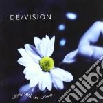 De/vision - Unversed In Love cd musicale di DE/VISION