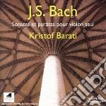 Sonate e partite per violino solo cd musicale di Bach johann sebasti