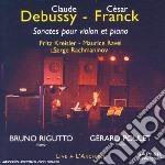 Sonata per violino e pianoforte cd musicale di Claude Debussy