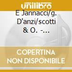 E Jannacci/g. D'anzi/scotti & O. - Nostalgia De Milan cd musicale di AA.VV.