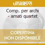 Comp. per archi - amati quartet cd musicale di Artisti Vari