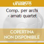 Comp. per archi - amati quartet cd musicale di Verdi / thomas