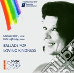 Ballads for loving kidness cd musicale di Klein & lightsey