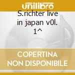 S.richter live in japan v0l. 1^ cd musicale di Prokofiev