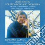 MUSICA X TROMBONE E ORCHESTRA cd musicale