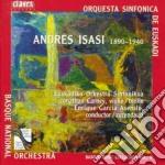 Isasi Andres - Berceuse Tragica X Vl E Orchestra Op.22, Erotische Dichtung Op.14, Zharufa Op.12 cd musicale di Andres Isasi