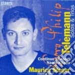 Telemann Georg Philip - Sonata X Fl A Becco In Do Mag E In La Min, Sonatine, Sonate A 3, Fantasia I E Vi cd musicale di Telemann georg phili