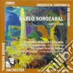 PABLO SOROZABAL cd musicale