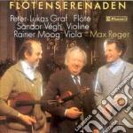 SERENATE X FL, VL E VLA cd musicale di Max Reger