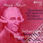 Haydn Franz Joseph - Divertimenti E Concertini X Fortepiano E Archi cd musicale di Haydn franz joseph