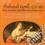 Carulli Ferdinando - Serenate X Fl E Chit Op.109 cd musicale