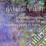 QUINTETTO X PF E ARCHI OP.89, OP.115 cd musicale di Gabriel Faure'