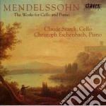 OPERE X VLC E PF (INTEGRALE) cd musicale di Felix Mendelssohn