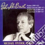 Bach J.S. - Concerto Italiano Bwv 971, Suite Inglese Bwv 807, Suite Francese Bwv 817, Partit cd musicale di Johann Sebastian Bach
