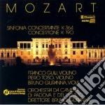 Mozart Wolfgang Amadeus - Sinfonia Concertante X Vl E Vla K 364, Concertone K 190 cd musicale di Wolfgang Amadeus Mozart