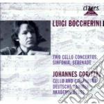 Boccherini Luigi - Sinfonia N.11, Concerto X Vlc G 80, G 482, Serenata G 501 cd musicale di Luigi Boccherini